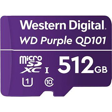 WD SDXC 512GB Purple QD101 (WDD512G1P0C)