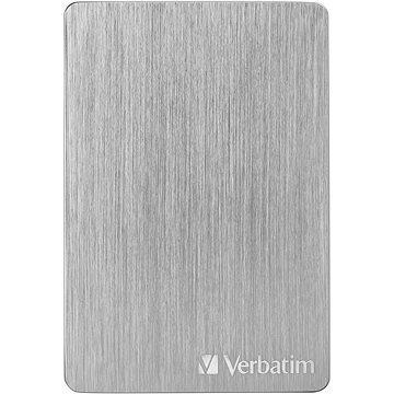 VERBATIM Store´n´ Go ALU Slim 1TB, stříbrný (53663)