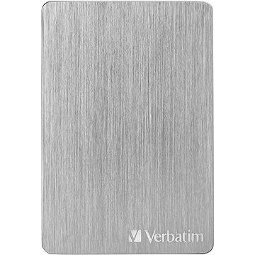 VERBATIM Store´n´ Go ALU Slim 2TB, stříbrný (53666)