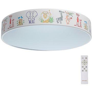 De Markt - LED Stmívatelné dětské stropní svítidlo HI-TECH 1xLED/50W/230V + dálKové ovládání (95478)