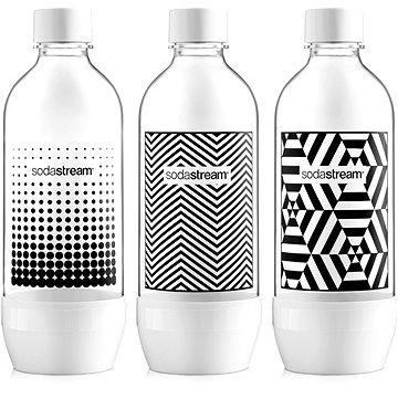 SodaStream Láhev TriPack 1l Black&White (42002132)