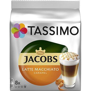 TASSIMO kapsle Jacobs Latte Macchiato Caramel 8 nápojů (344101)