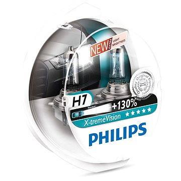 PHILIPS H7 X-tremeVision, 55W, patice PX26d, 2 ks (12972XV+S2)