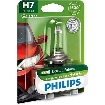 PHILIPS H7 LongLife EcoVision (12972LLECOB1)