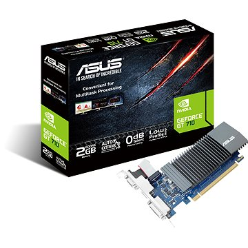 ASUS GeForce GT 710 SL-2GD5-BRK (90YV0AL3-M0NA00)