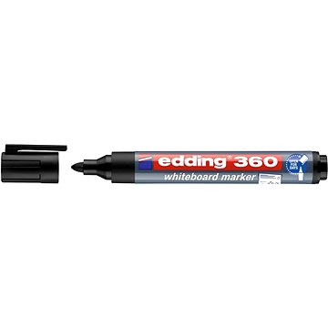 EDDING 360 na bílé tabule a flipcharty, černý (4-360001)