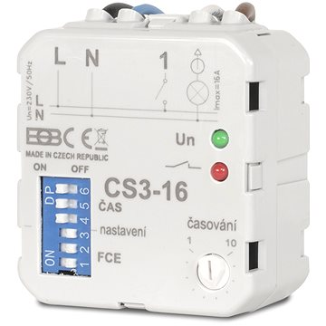 Elektrobock CS3-16 Multifunkční časový spinač (0137)