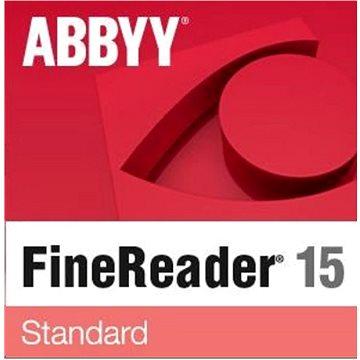 ABBYY FineReader 15 Standard (elektronická licence) (FR15SW-FMPL-X)