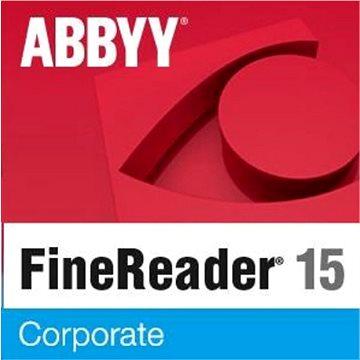 ABBYY FineReader 15 Corporate EDU (elektronická licence) (FR15CW-FEPL-X)