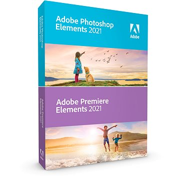 Adobe Photoshop Elements + Premiere Elements 2021 MP WIN/MAC ENG (elektronická licence) (65313026AD0