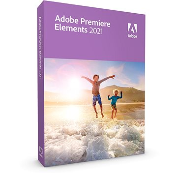 Adobe Premiere Elements 2021 CZ (elektronická licence) (65312855AD01A00)