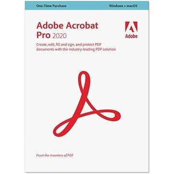 Adobe Acrobat Pro WIN/MAC CZ (BOX) (65310803)