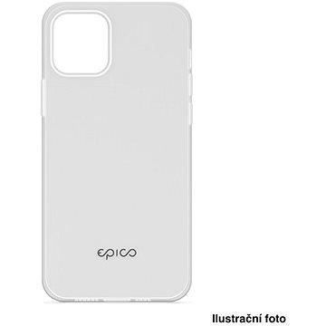 Epico Silicone Case iPhone XS Max - bílé transparentní (33010101000012)