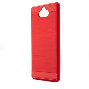 Epico Carbon pro Sony Xperia 10 - červený (37510101400001)