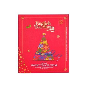 English Tea Shop, adventní kalendář červený, 25 pyramidek (56201)
