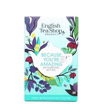 English Tea Shop Mix čajů Because you're Amazing 40g, 20 ks bio ETS20 (60185)
