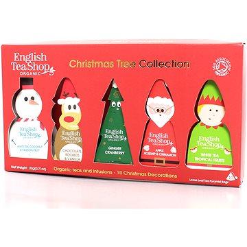 English Tea Shop Dárková sada Vánočních figurek na stromeček 20 g, 10 ks bio ETS10 (58700)