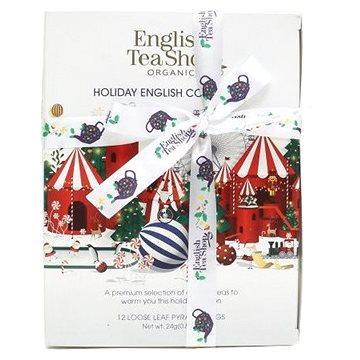 English Tea Shop Bílá vánoční kolekce 24 g, 12 ks bio ETS12 (60802)