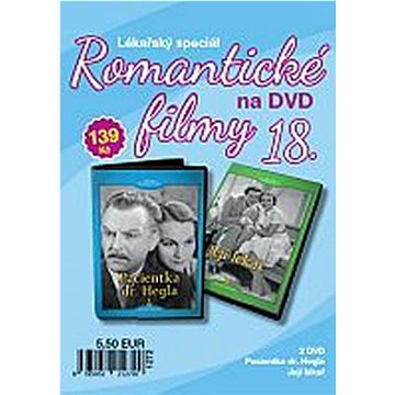 Romantické filmy 18 (2DVD) - DVD (8595052212720)