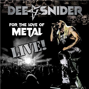Dee Snider: For the love of Metal - Live (2x LP+DVD) - LP+DVD (0840588135523)
