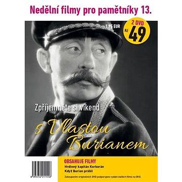 Nedělní filmy pro pamětníky 13: Vlasta Burian (2DVD) - DVD (1155)
