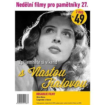 Nedělní filmy pro pamětníky 27: Vlasta Fialová (2DVD) - DVD (1187)
