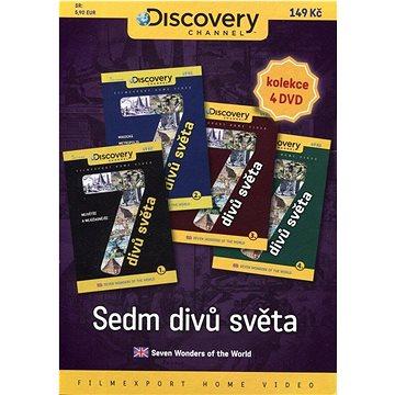 Sedm divů světa /papírové pošetky/ (4DVD) - DVD (7025)
