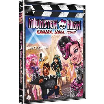 Monster High : Kamera, Lebka, Jedem! - DVD (8596978567055)