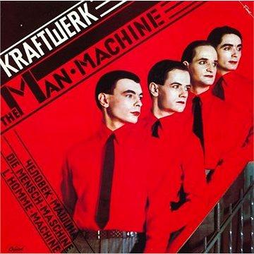 Kraftwerk: Man-Machine (Limited Red Vinyl) - LP (9029527233)