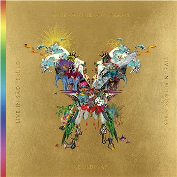 Coldplay: Live In Buenos Aires / Live In Sao Paulo / A Head Full Of Dreams (2x CD + 2x DVD) - CD+DVD (9029555927)