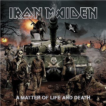 Iron Maiden: A Matter Of Life And Death (2x LP) - LP (9029585195)