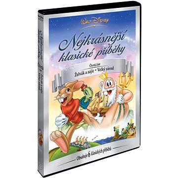 Walt Disney: Nejkrásnější klasické příběhy 4 - DVD (D00130)