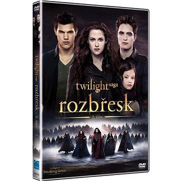 Twilight sága: Rozbřesk 2. část - DVD (D006256)