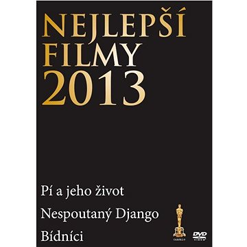 Nejlepší filmy 2013 (3DVD) - DVD (D006577)