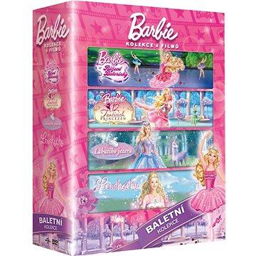 Barbie Baletka: kolekce (4DVD) - DVD (D006704)
