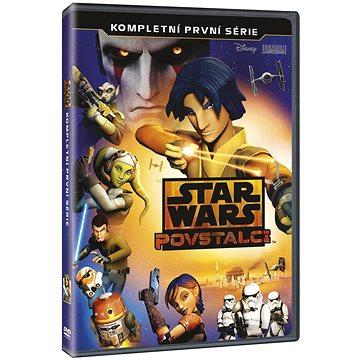 Star Wars Povstalci - Kompletní 1. série (3DVD) - DVD (D00862)