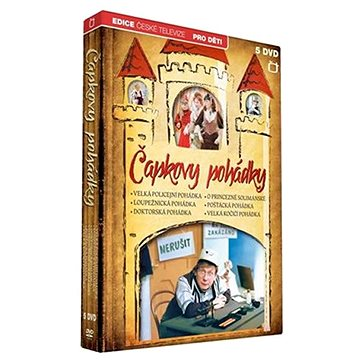 Čapkovy pohádky (5DVD) - DVD (ECT112)