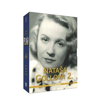 Nataša Gollová - kolekce 2 (4DVD) - DVD (FHV7175)