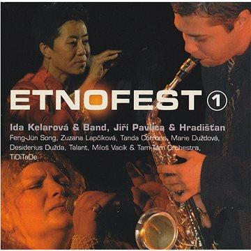 V/A: Etnofest 1 Lucerna live 2003 - CD (LT0133-2)