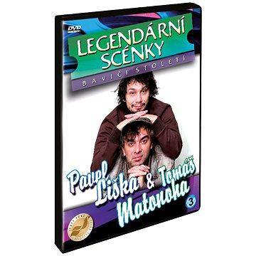 Liška, Matonoha - Legendární scénky - DVD (N01113)