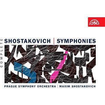Symfonický orchestr hl.m.Prahy, Šostakovič Maxim: Symfonie - komplet (10x CD) - CD (SU3890-2)