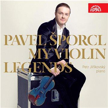 Šporcl Pavel: My Violin Legends - CD (SU4141-2)