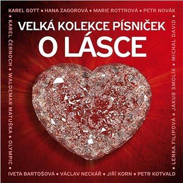 Various: Velká kolekce písniček o lásce (3x CD) - CD (SU6324-2)