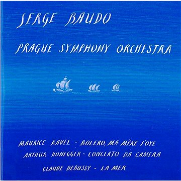 Přažský symfonický orchestr: Serge Baudo - CD (VA0145-2)