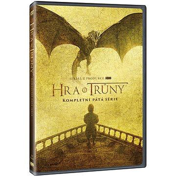 Game of Thrones / Hra o trůny - 5. série (5DVD multipack) - DVD (W02384)