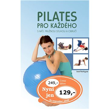 Pilates pro každého: S míči, pružnou stuhou a obručí (978-80-7360-848-4)