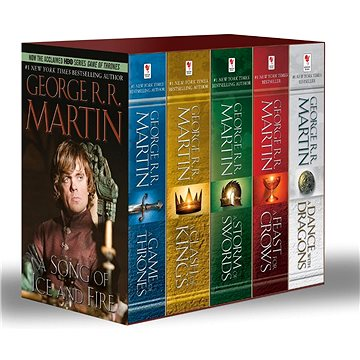 A Game of Thrones 1-5 Boxed Set. TV Tie-In: Song of Ice and Fire Series (0345535529)
