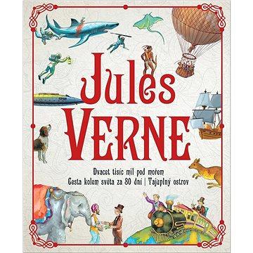 Jules Verne: Dvacet tisíc mil pod mořem, Cesta kolem světa za 80 dní, Tajuplný ostrov (978-80-7567-427-2)