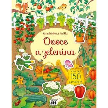 Samolepková knížka Ovoce a zelenina (8595593818931)