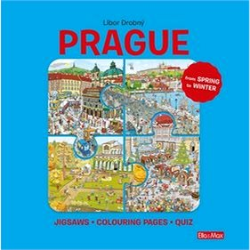 Prague: Puzzles - Colouring - Quizzes (978-80-88276-55-5)